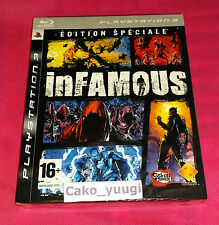 RARE INFAMOUS EDITION SPECIALE SONY PS3 NEUF SCELLE VERSION 100% FRANCAISE