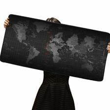 Large Gaming Mouse Mat Desk XXL World Map Mousepad Extended Game Mouse Pad Gift