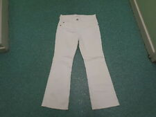 "Marks & Spencer Bootcut Jeans Size 12 Leg 29"" Faded White Ladies Jeans"