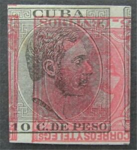 nystamps Spanish C Stamp # 104 Mint H Proof   L30y1310