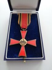 (BRD-2) Bundesverdienstkreuz am Band im Etui - alte Ausfertigung S & L