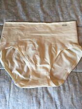 Women's Control Top Underwear Nylon Rayon Spandex  Light Beige NWOT