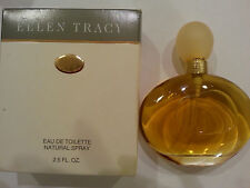 ELLEN TRACY EAU DE TOILETTE NATURAL SPRAY 2.5 OZ /75ML NEW VINTAGE STOREWORN BOX