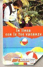 Telefonkarte Italien gut erhalten + unbeschädigt (intern: 2255 )