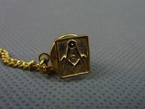 9ct Gold Masonic Tie Pin