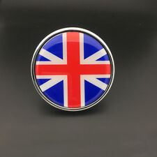England Flag Metal Hood Front Rear Grille Grill Badge Emblem For Mini Jaguar
