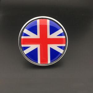 England Flag Metal Hood Front Rear Grille Grill Badge Emblem For Mini Jaguar