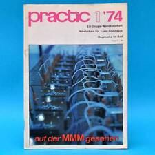 DDR practic 1/1974 Folientreibhaus Gr. Blumenschale Doppel-Wandklappbett Tisch J