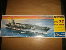 Italeri - Nuclear poweered Aircraft Carrier C. V. N. 70 Carl VI - Kit