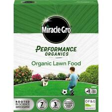 Evergreen Miracle Gro Performance Organic Lawn Food - 100m2 Coverage