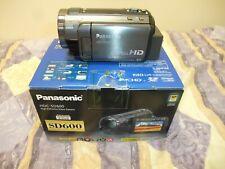PANASONIC HDC-SD600 FULL HD DIGITAL CAMERA, USED