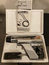 Vintage Sears Penske Dc Inductive Timing Light With Case Amp Manual Model 2442138