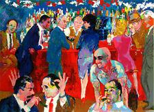 """Leroy Neiman      """"Bo's Table, Thursday Night at Rao's""""   MAKE  OFFER"""