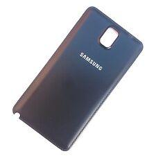 100% Originale Samsung Galaxy Note III 3 POSTERIORE COVER per Batteria Nera