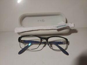 Womens Oakley Irreverent Eyeglass Frames Tortoise Night With Bag/Case
