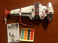 Star Wars B-Wing Starfighter Dagger Squadron 2008 w/ Pilot and instructions