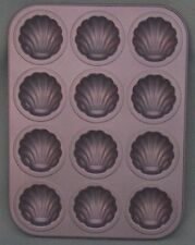 Shell CAKE TRAY.....Bakes 12 Shell Design INDIVIDUAL CUP CAKES....Brand New Item