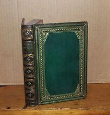 Bothwell. Edmondstoune Aytoun. 1857. Fine binding. Signed Letter.