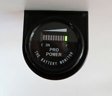 24M Volt Battery Indicator - Works w/ All Lead Acid Batteries, Exide, Trojan MB