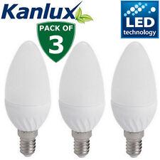 Kanlux High Lumen Candle Light Bulb 6.5W E14 LED Lamp 600lm Neutral White 4000K