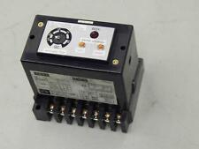 #781 Fuji Electric RRD-60-P0 Time Delay Type Earth Leakage Detector .2-2 Sec