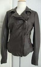 MUUBAA Klassische Lederjacke Damen Jacke Lammnappa Leather Gr.38 NEU mit ETIKETT