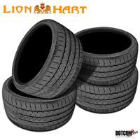4 X New Lionhart LH-Five 255/40R18 99W Passenger All-Season Tires