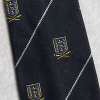 Vintage Tie MENS Necktie Crested Club Association Society