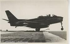 Postcard 1145 - Aircraft/Aviation Real Photo North American FJ-2 Fury