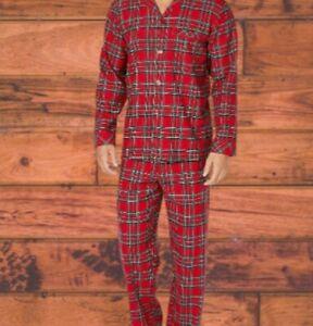 Men's Family Pajama Matching Brinkley Plaid  Pajama Set