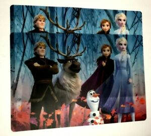 NEW FROZEN 2 BPA FREE PLASTIC PLACEMATS SET OF 2