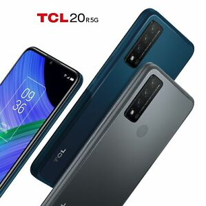 """SMARTPHONE TCL 20 R 5G ANDROID CELLULARE 128 GB DUAL SIM 6.5"""" OCTA CORE HD+ 4500"""