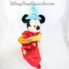 Peluche fourre tout Mickey DISNEYLAND PARIS Fantasia sac chapeau à l'envers (MO)