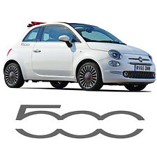 Fiat 500 Logo Side Skirt Stickers 500c Decal Abarth Sporting Graphic Stripe