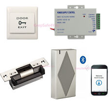 Low Cost Door Lock Bluetooth Reader for Access Control System by Smart Phone APP