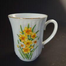 Henkelbecher Kaffeebecher Pott Haferl original BOHEMIA DUBI - Florales Design