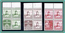 DENMARK 1933 WINDMILLS booklet PANES SC#223d//238L MLH OG 238L-CREASED CV$115.00