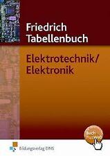 Friedrich Tabellenbuch, Elektrotechnik / Elektronik... | Buch | Zustand sehr gut
