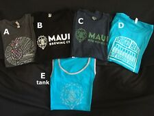 Fire sale! Maui Brewing Co Men'S Xxl (2Xl) Shirt & limited edition Hat
