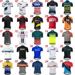 2021 Mens Team Cycling Jersey Cycling Short Sleeve Maillot Bicycle Jerseys Shirt