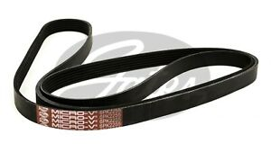 Gates Ribbed Belt 6PK2255 fits Mercedes-Benz Vito 109 CDi (W639), 111 CDI (W6...