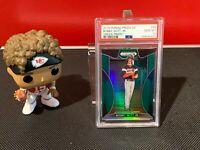 2019 Panini Prizm Draft Picks Bobby Witt Jr Rookie Green Prizm PSA 10 GEM MT #94