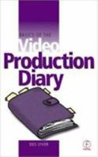 Video Production Diary book.