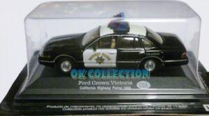 1:43 Polizia / Police - FORD CROWN VICTORIA - California Patrol USA 1995 (01)