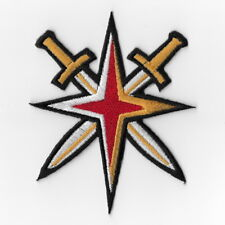 Vegas Golden Knights NHL Iron on Patches Embroidered Applique Badge Cross Swords