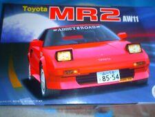 FUJIMI 1/24 SCALE TOYOTA MR2 AW11  SPORTS CAR KIT/N 038957