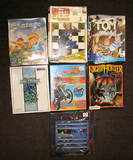 Lot 7 Atari St Videogames New &UsedAssortedCondition Star Breaker Tom Ghost More