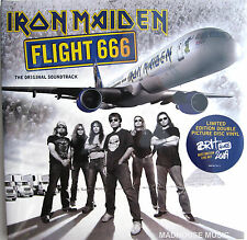 IRON MAIDEN LP x 2 Flight 666 PICTURE DISC Sealed 2013 Heavyweight VINYL