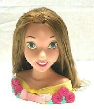 Disney Princess BELLE Beauty & The Beast Styling Hair Head, 2005 Playmates