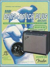 The Fender Dyna-Touch Plus Deluxe 90 DSP amp ad 8 x 11 amplifier advertisement
